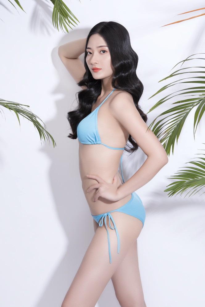 """Mỹ nhân Hà Tĩnh cao 1,72 m mặc bikini quyến rũ """"bỏng mắt"""" thi Hoa hậu Việt Nam 2020 - Ảnh 3."""
