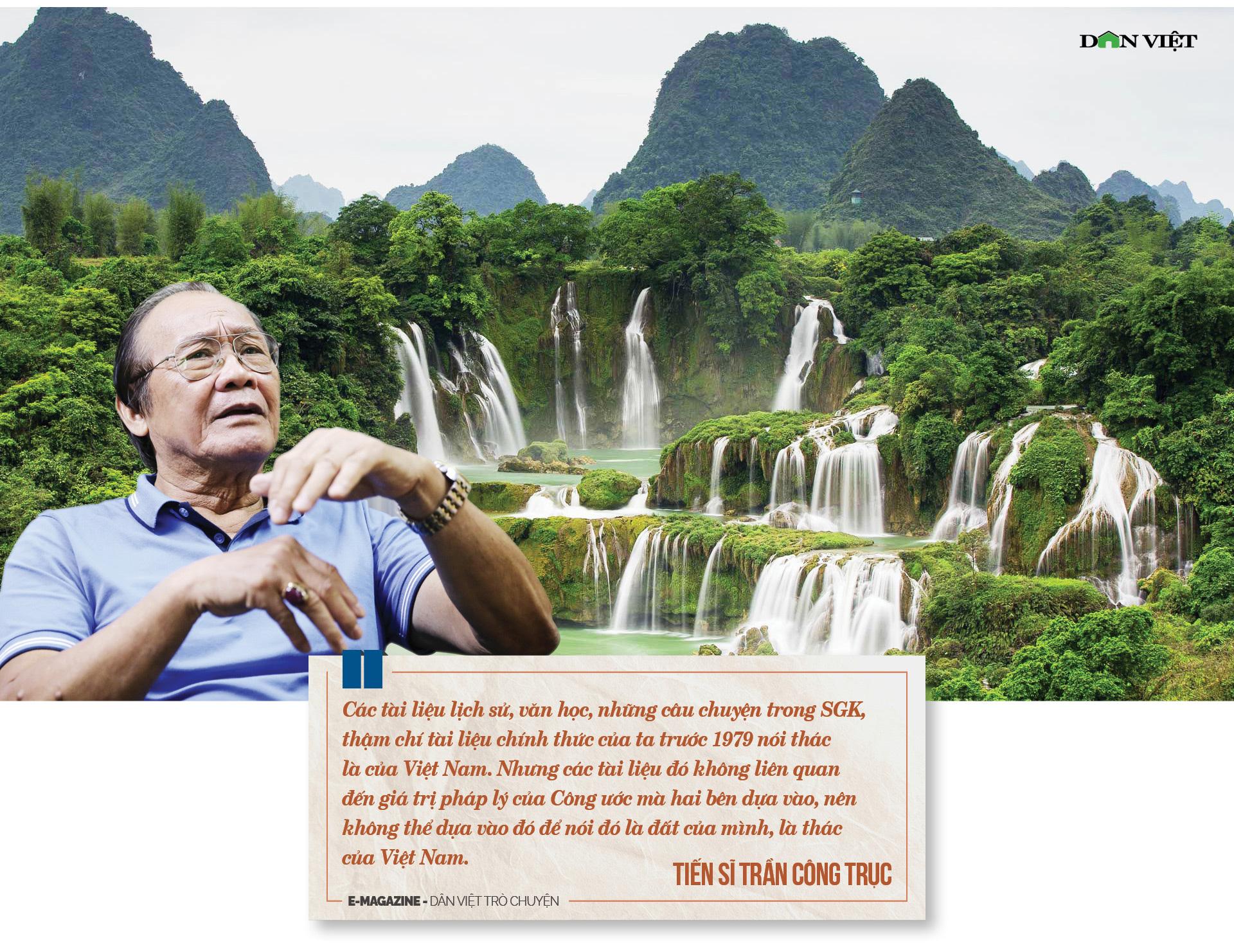 """Tiến sĩ Trần Công Trục: """"Không có chuyện Việt Nam bán đất, bán thác cho Trung Quốc"""" - Ảnh 6."""