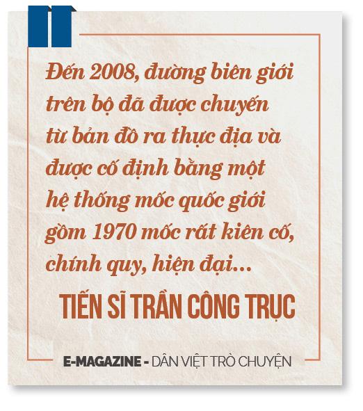 """Tiến sĩ Trần Công Trục: """"Không có chuyện Việt Nam bán đất, bán thác cho Trung Quốc"""" - Ảnh 11."""