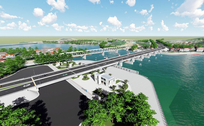 Khánh Hòa xây đập ngăn mặn 760 tỷ đồng - Ảnh 1.