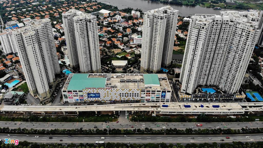 Chung cư dày đặc tuyến metro Bến Thành - Ảnh 7.