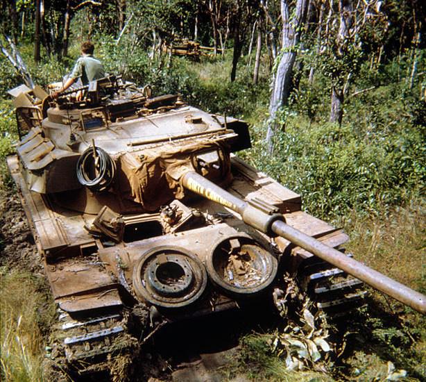 Bất ngờ xe tăng nặng nhất trong Chiến tranh Việt Nam - Ảnh 1.