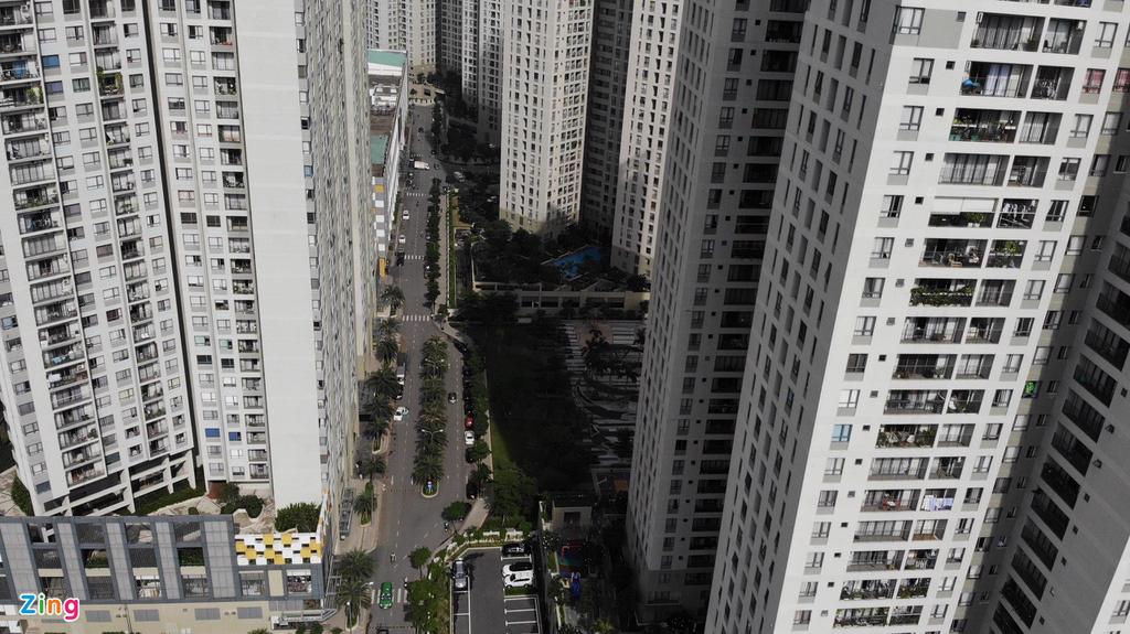 Chung cư dày đặc tuyến metro Bến Thành - Ảnh 8.