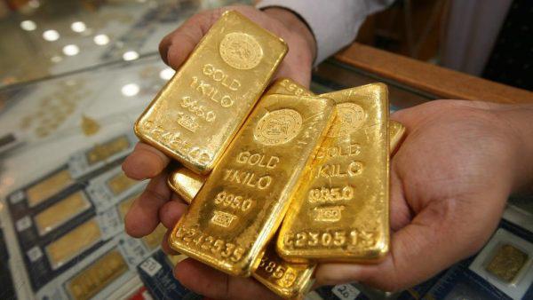 Giá vàng hôm nay 29/9: Ngược chiều USD, vàng bật tăng trở lại - Ảnh 1.