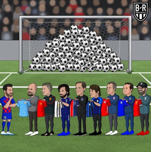 """ẢNH CHẾ: Rời Barcelona, Messi sang Việt Nam """"khuấy đảo"""" V.League - Ảnh 13."""