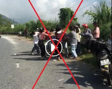 Phú Thọ: Đã làm rõ hai nhóm nữ sinh đánh nhau trên Đèo Cón - Ảnh 1.