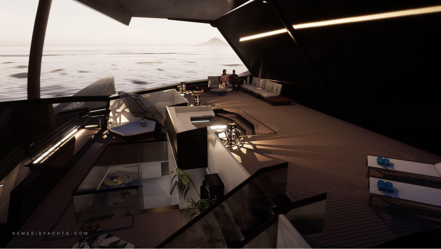 Du thuyền buồm sang trọng tốc độ cao, tự hành đầu tiên trên thế giới - Ảnh 3.