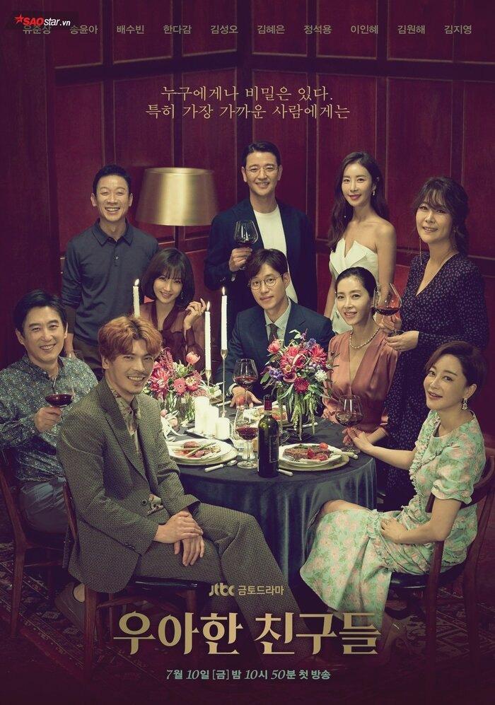 """Hai phim hot nhất xứ Hàn """"Hội bạn cực phẩm"""" và """"Hoa của quỷ"""" ngừng chiếu vì dịch Covid-19 - Ảnh 4."""