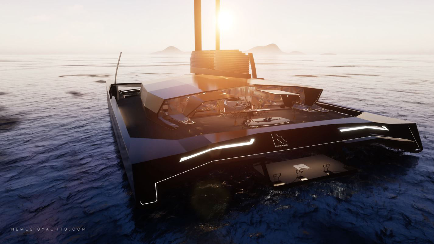 Du thuyền buồm sang trọng tốc độ cao, tự hành đầu tiên trên thế giới - Ảnh 2.