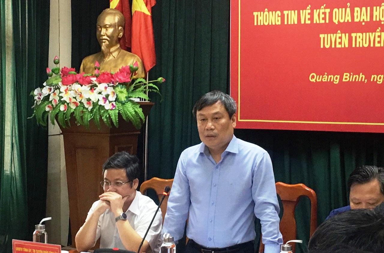 Tân Bí thư Quảng Bình lên tiếng vụ chi 2,2 tỷ đồng mua cặp: Đại hội tổ chức tiết kiệm, không cần phô trương - Ảnh 2.