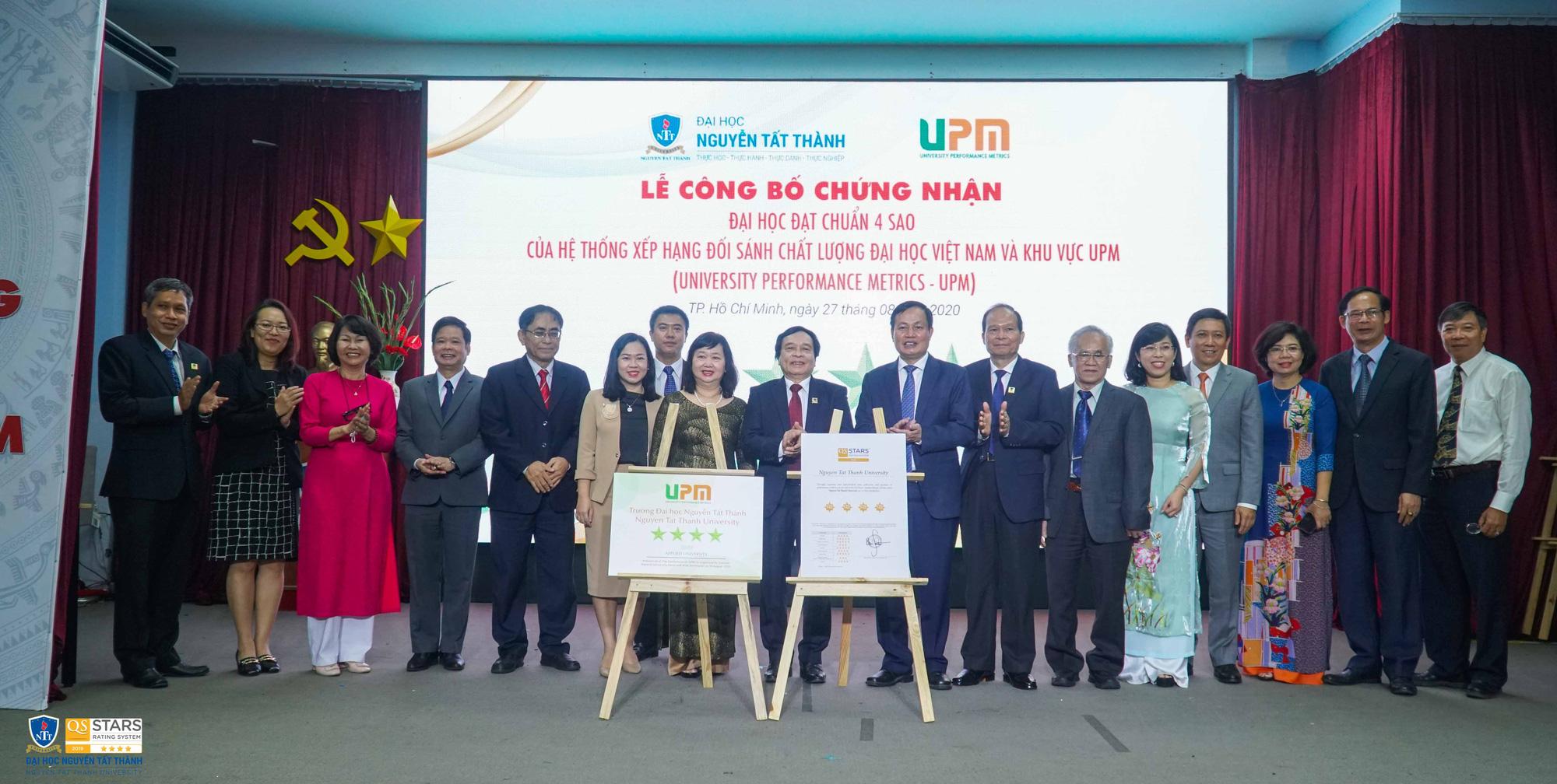 Trường ĐH ngoài công lập đầu tiên đón nhận chuẩn 4 sao UPM - Ảnh 1.