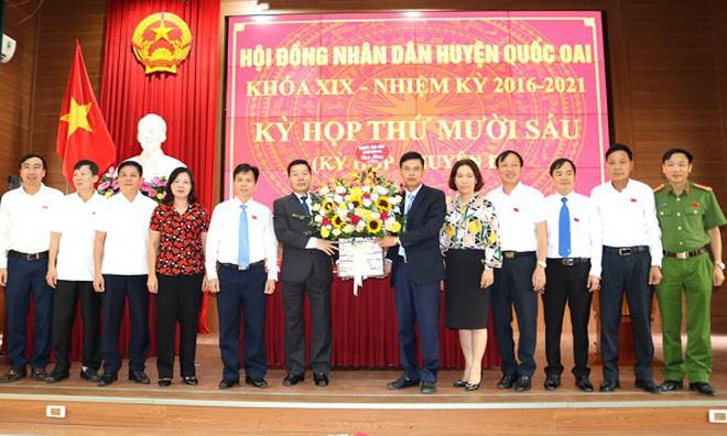 Hà Nội: Tân Chủ tịch UBND huyện Quốc Oai thay ông Đỗ Huy Chiến là ai? - Ảnh 1.