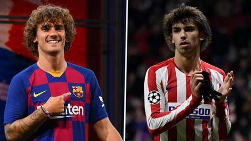 Barcelona muốn đổi Griezmann lấy Joao Felix.