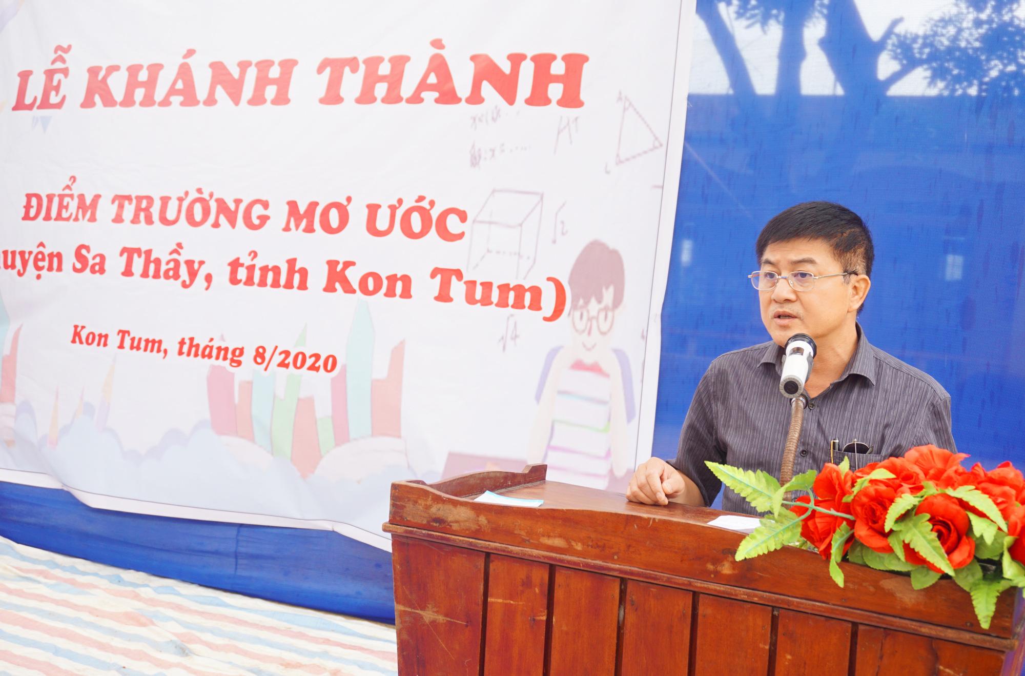 """Báo NTNN/Dân Việt - Quỹ Thiện Tâm khánh thành """"Điểm trường mơ ước"""" tại Kon Tum - Ảnh 2."""