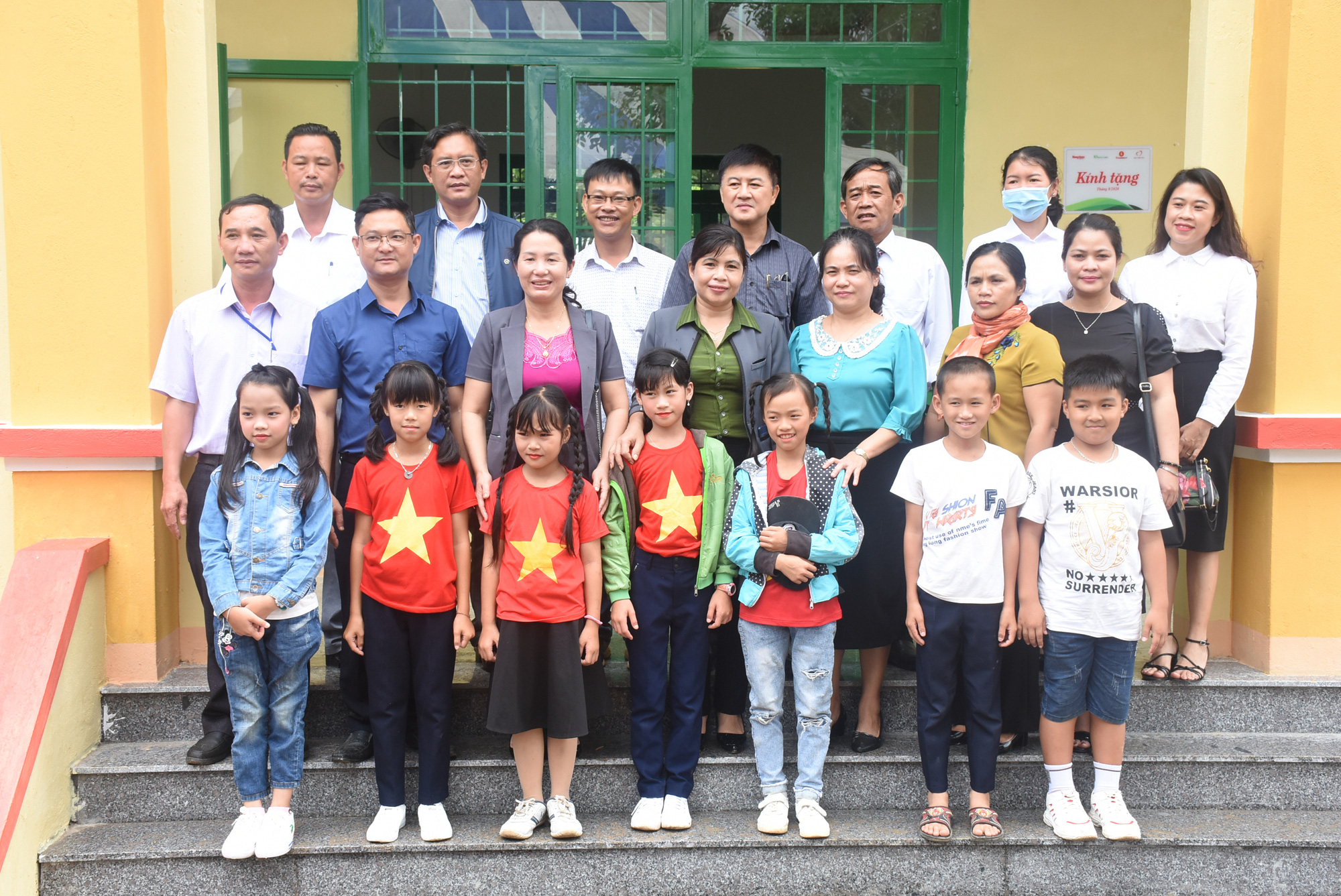 """Báo NTNN/Dân Việt - Quỹ Thiện Tâm khánh thành """"Điểm trường mơ ước"""" tại Kon Tum - Ảnh 9."""