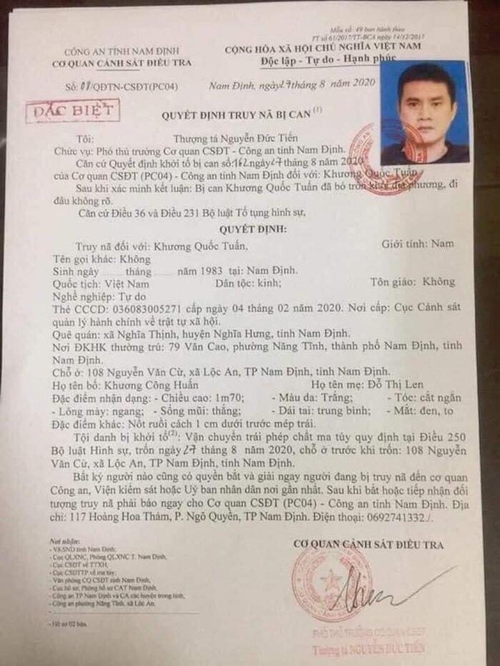Lai lịch cựu cầu thủ Nam Định Khương Quốc Tuấn đang bị truy nã - Ảnh 4.