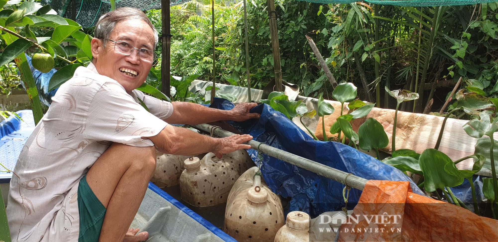 """Lão nông nuôi lươn trong can nhựa """"độc"""" nhất miền Tây: Chỉ tuyệt chiêu dưỡng lươn đồng bị chích điện không bị chết - Ảnh 6."""
