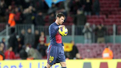 Messi trên đường gia nhập Man City.