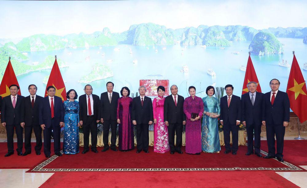 Thủ tướng Nguyễn Xuân Phúc chủ trì lễ kỷ niệm 75 năm Quốc khánh - Ảnh 1.
