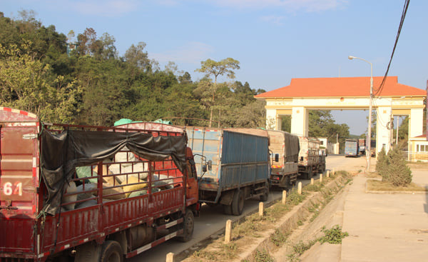 Lạng Sơn: Khôi phục thông quan hàng hóa qua cửa khẩu Na Hình từ ngày 31/8 - Ảnh 1.