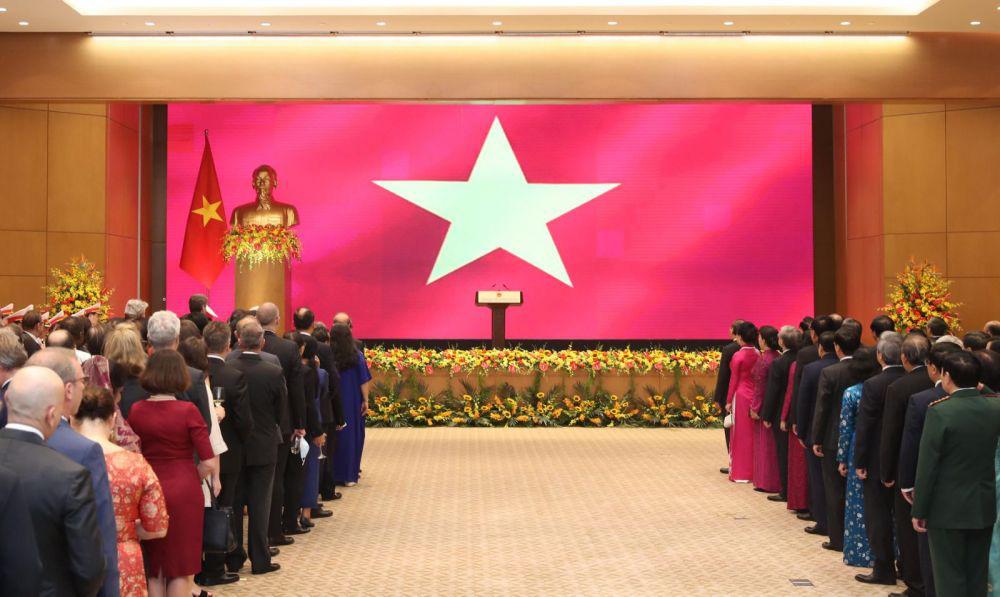 Thủ tướng Nguyễn Xuân Phúc chủ trì lễ kỷ niệm 75 năm Quốc khánh - Ảnh 3.