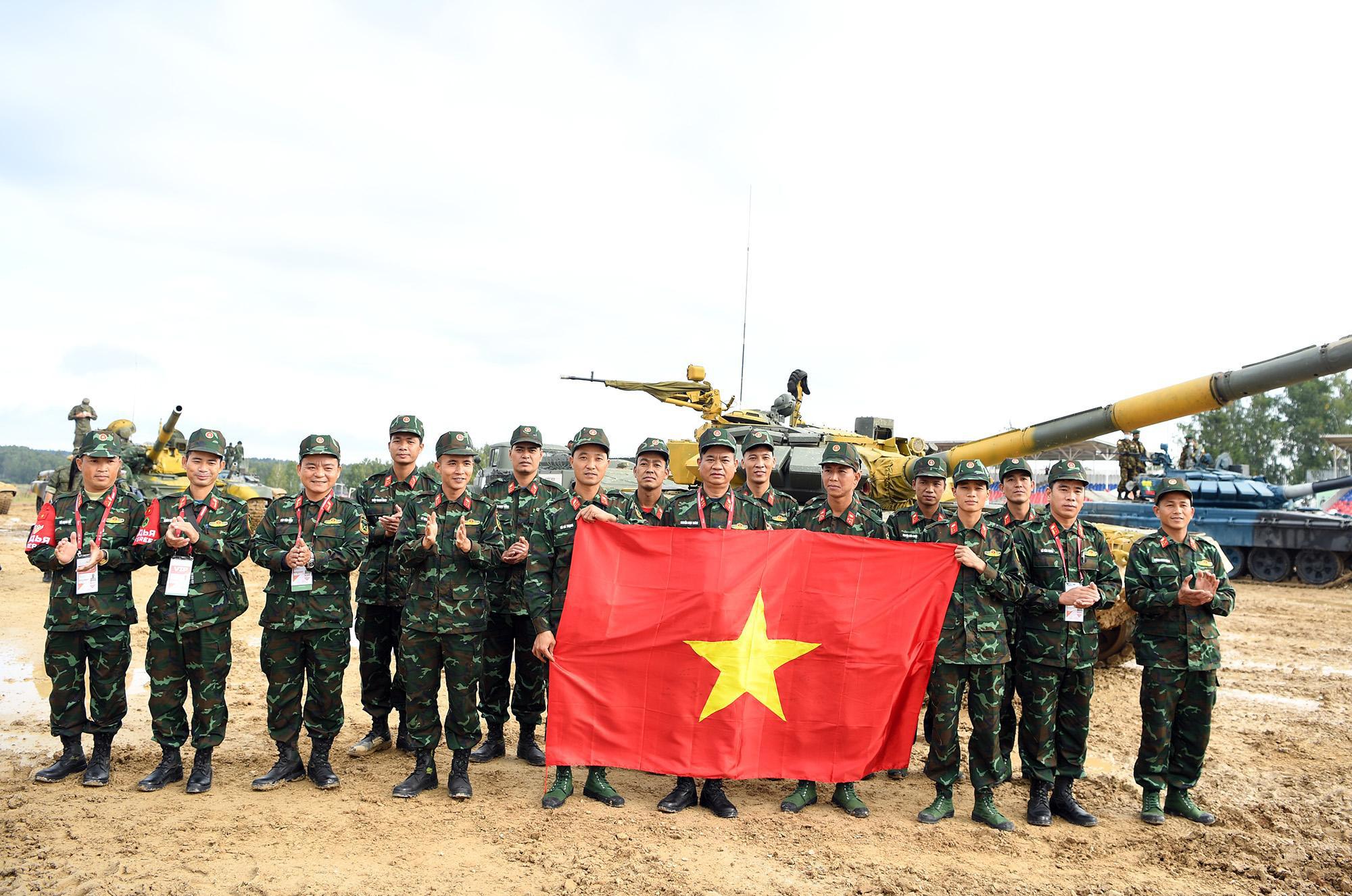 Hình ảnh xe tăng Việt Nam hùng dũng thi đấu ở trận 2 Tank Biathlon - Army Games 2020 - Ảnh 8.