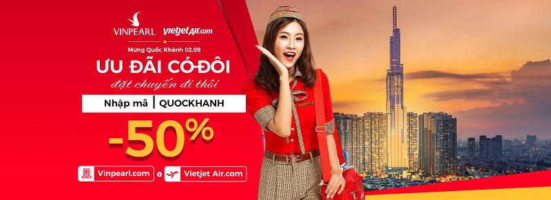 Ưu đãi 50% giá phòng Vinpearl khi bay Vietjet Air - Ảnh 5.