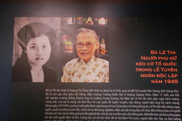 Giáo sư Lê Thi - người kéo cờ ngày Độc lập năm 1945 tại Ba Đình qua đời - Ảnh 2.