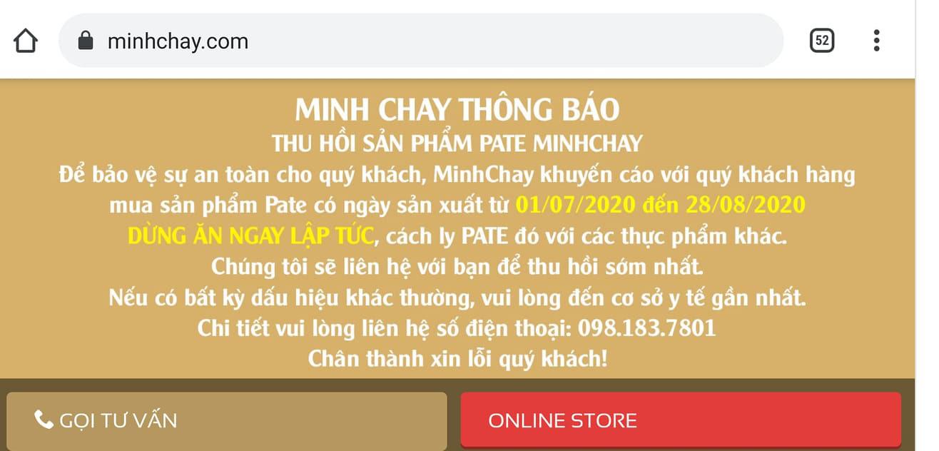 Vi khuẩn có trong Pate Minh Chay gây liệt cơ cho 9 người là gì?  - Ảnh 2.