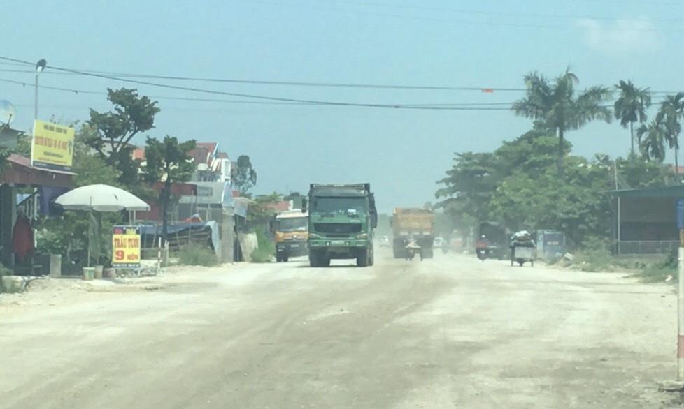 Hải Dương: Tăng cường xử lý xe quá tải qua Ninh Giang - Ảnh 1.