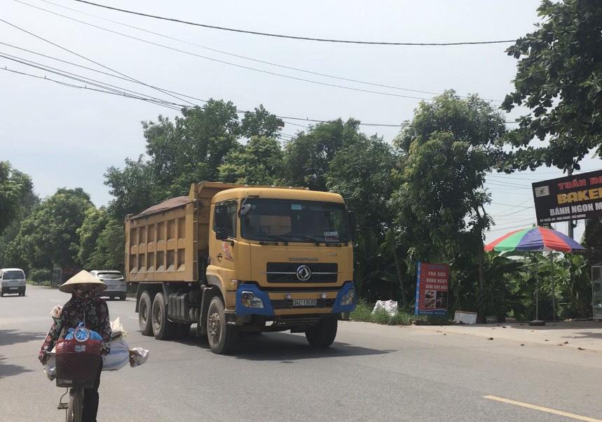 Hải Dương: Tăng cường xử lý xe quá tải qua Ninh Giang - Ảnh 2.
