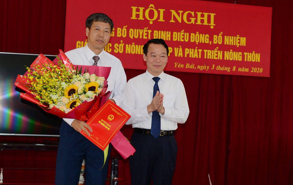 Yên Bái: Điều động Phó Trưởng Đoàn đại biểu Quốc hội tỉnh kiêm giữ chức Giám đốc Sở NN&PTNT - Ảnh 1.