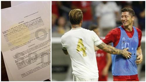 Real Madrid từng thảo sẵn hợp đồng cho Lewandowski.