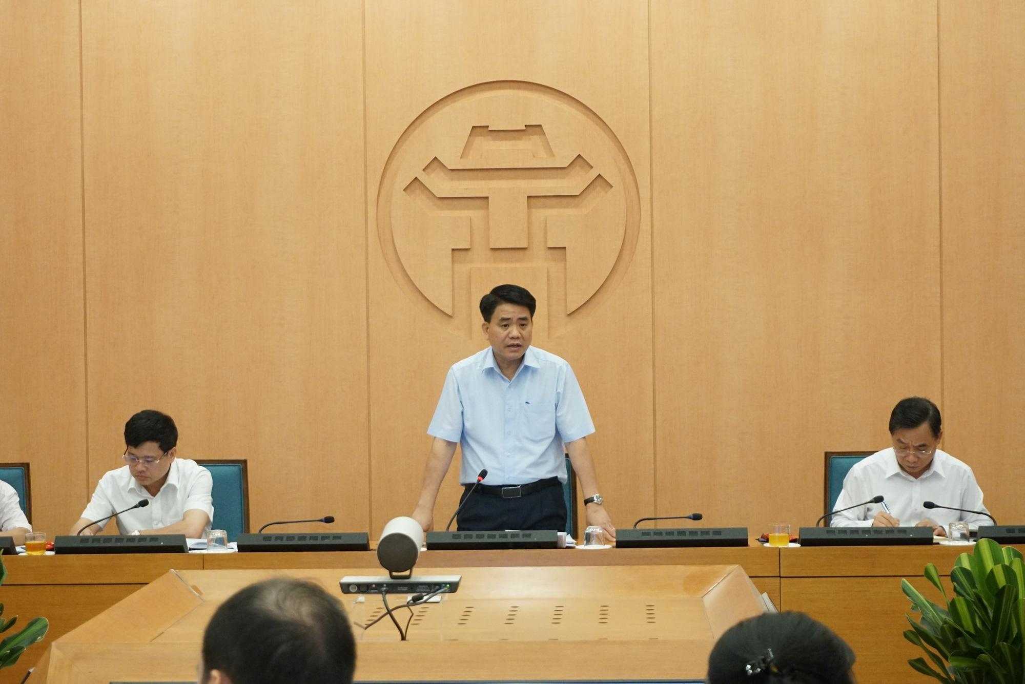 Chủ tịch Hà Nội: Thành phố đang vào giai đoạn cao điểm, đến ngày 13/8 mới yên tâm - Ảnh 1.