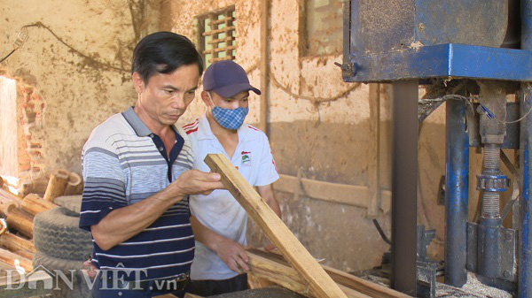 Phú Thọ: Từ hộ nghèo người dân phải góp tiền xây nhà, thành tỷ phú nhờ nghề gỗ công nghiệp - Ảnh 1.
