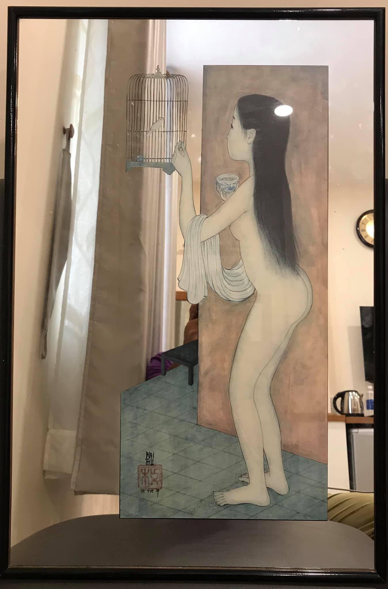 Tuấn cá sấu đau xót vì vỡ bức tranh gương duy nhất của họa sĩ Mai Trung Thứ  - Ảnh 2.