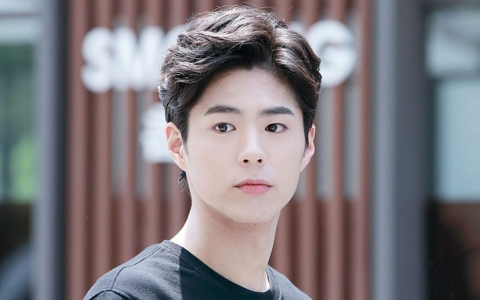 Nam thần từng bị nghi hẹn hò với Song Hye Ky - Park Bo Gum nhập ngũ - Ảnh 1.