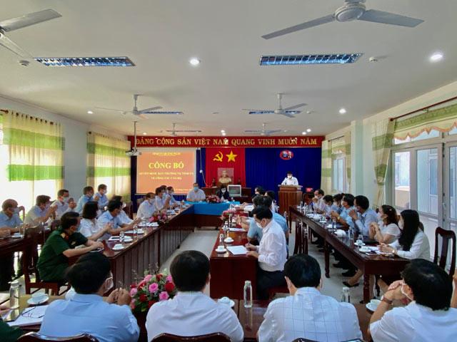 Quảng Ngãi: Chánh văn phòng UBND tỉnh được điều động làm Bí thư huyện Mộ Đức  - Ảnh 1.