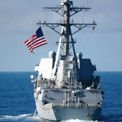 Bất chấp Trung Quốc, Mỹ lại đưa tàu chiến diễu qua eo biển Đài Loan - Ảnh 1.