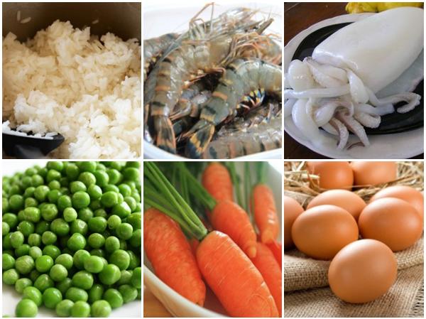 Bí quyết làm cơm rang hải sản đơn giản, giòn giòn, đậm vị hải sản thơm ngon, hấp dẫn