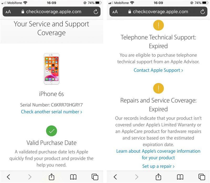 Kiểm tra iPhone chính hãng và thời hạn bảo hành chuẩn nhất - Ảnh 4.