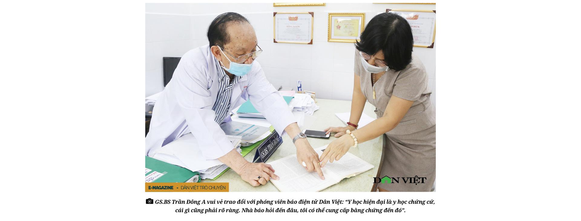 Giáo sư bác sĩ Trần Đông A: Sứ giả hòa giải dân tộc và nụ cười tận hiến - Ảnh 2.