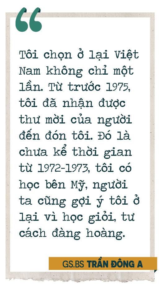 Giáo sư bác sĩ Trần Đông A: Sứ giả hòa giải dân tộc và nụ cười tận hiến - Ảnh 7.