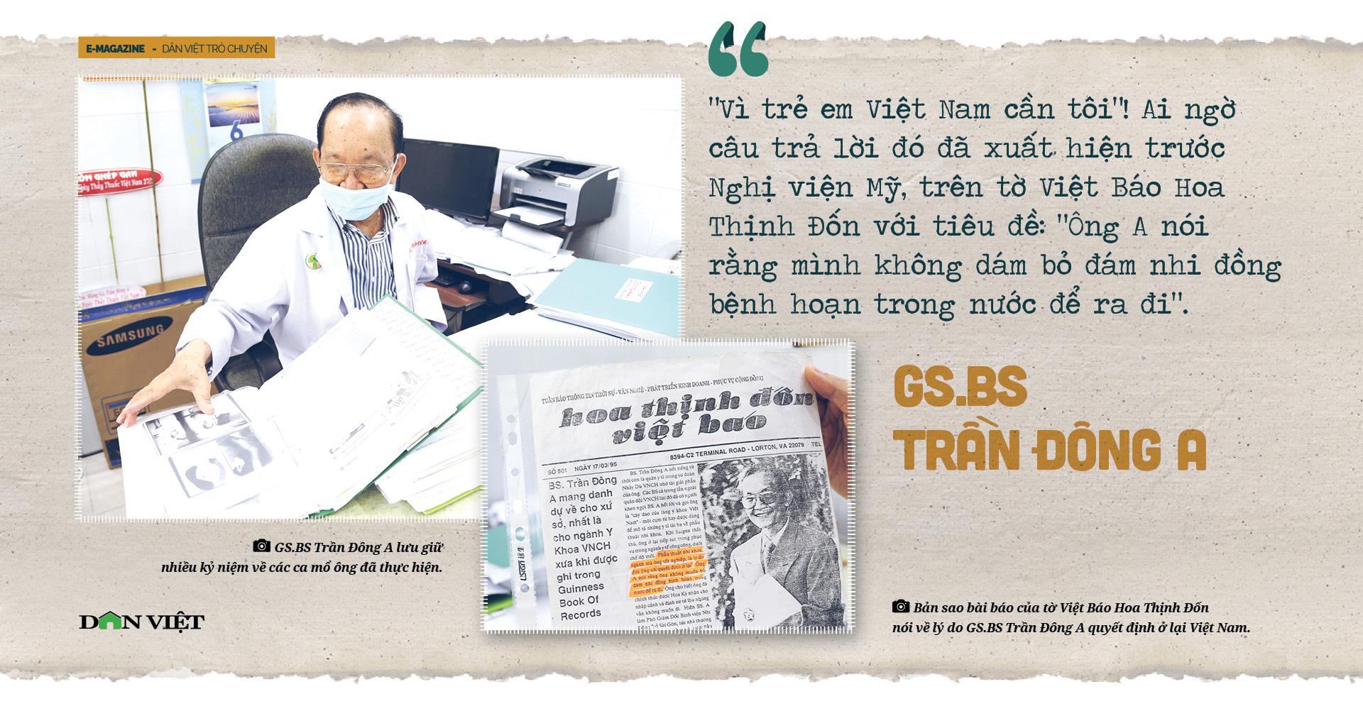 Giáo sư bác sĩ Trần Đông A: Sứ giả hòa giải dân tộc và nụ cười tận hiến - Ảnh 8.