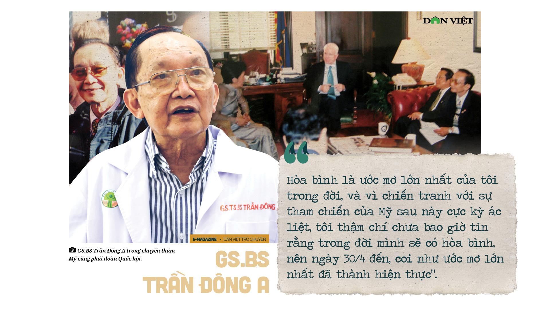 Giáo sư bác sĩ Trần Đông A: Sứ giả hòa giải dân tộc và nụ cười tận hiến - Ảnh 14.