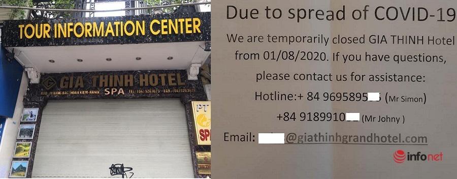 Khách sạn phố cổ Hà Nội ngậm ngùi đóng cửa, nghĩ cách tồn tại qua mùa dịch - Ảnh 1.