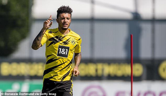"""Chê Dortmund hét giá """"trên trời"""", M.U có thể từ bỏ """"bom tấn"""" Sancho - Ảnh 1."""
