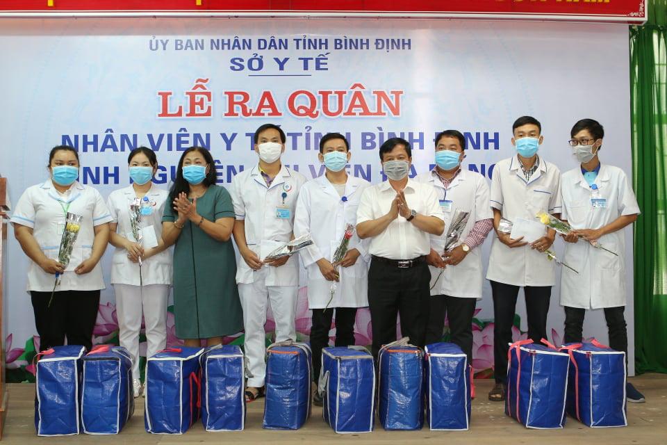 """25 y bác sĩ Bình Định sẽ """"kề vai sát cánh"""", cùng người Đà Nẵng chiến thắng dịch Covid-19 - Ảnh 6."""
