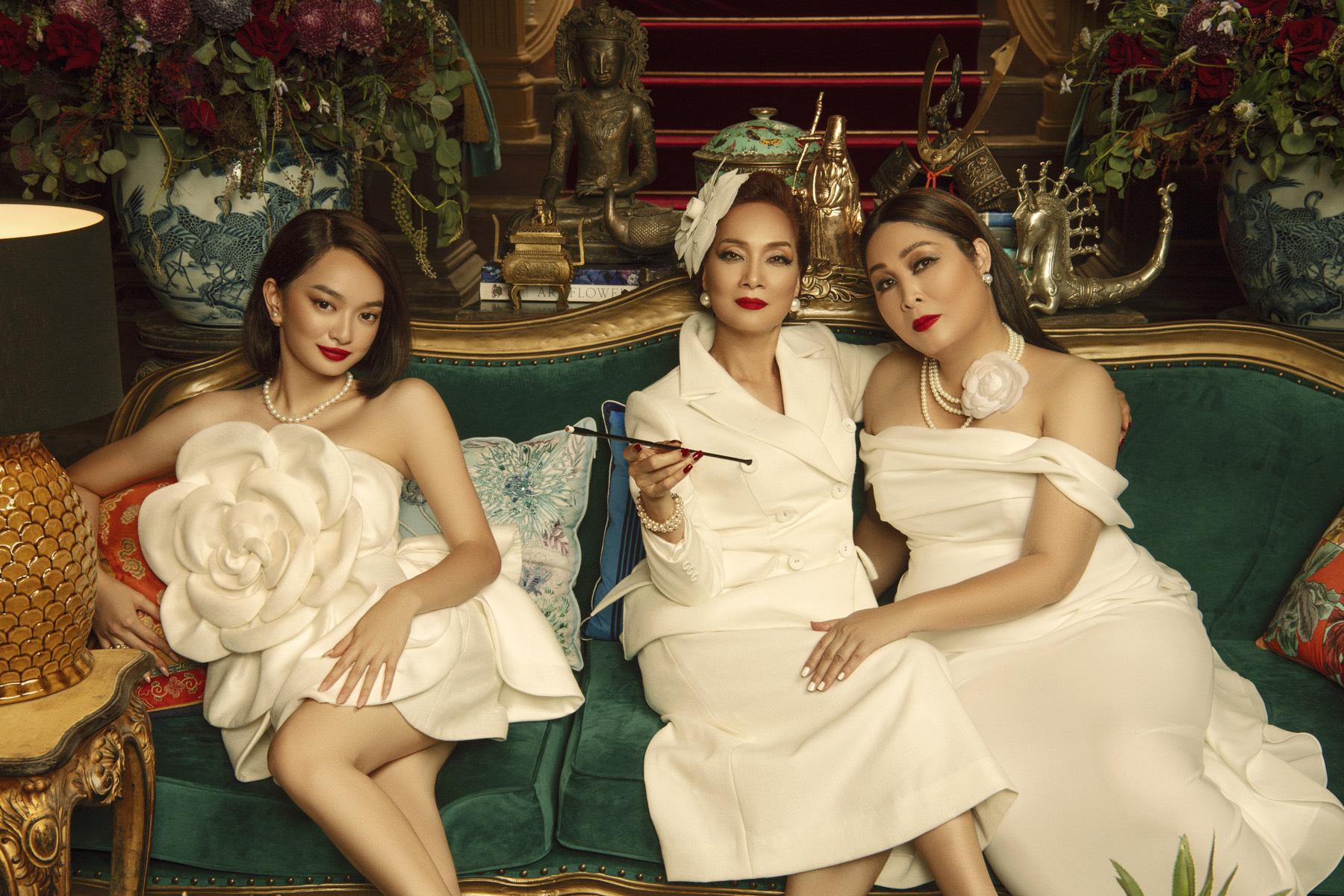 Kaity Nguyễn cùng Lê Khanh, Hồng Vân gia nhập đường đua phim Tết với Gái già lắm chiêu 5 - Ảnh 1.