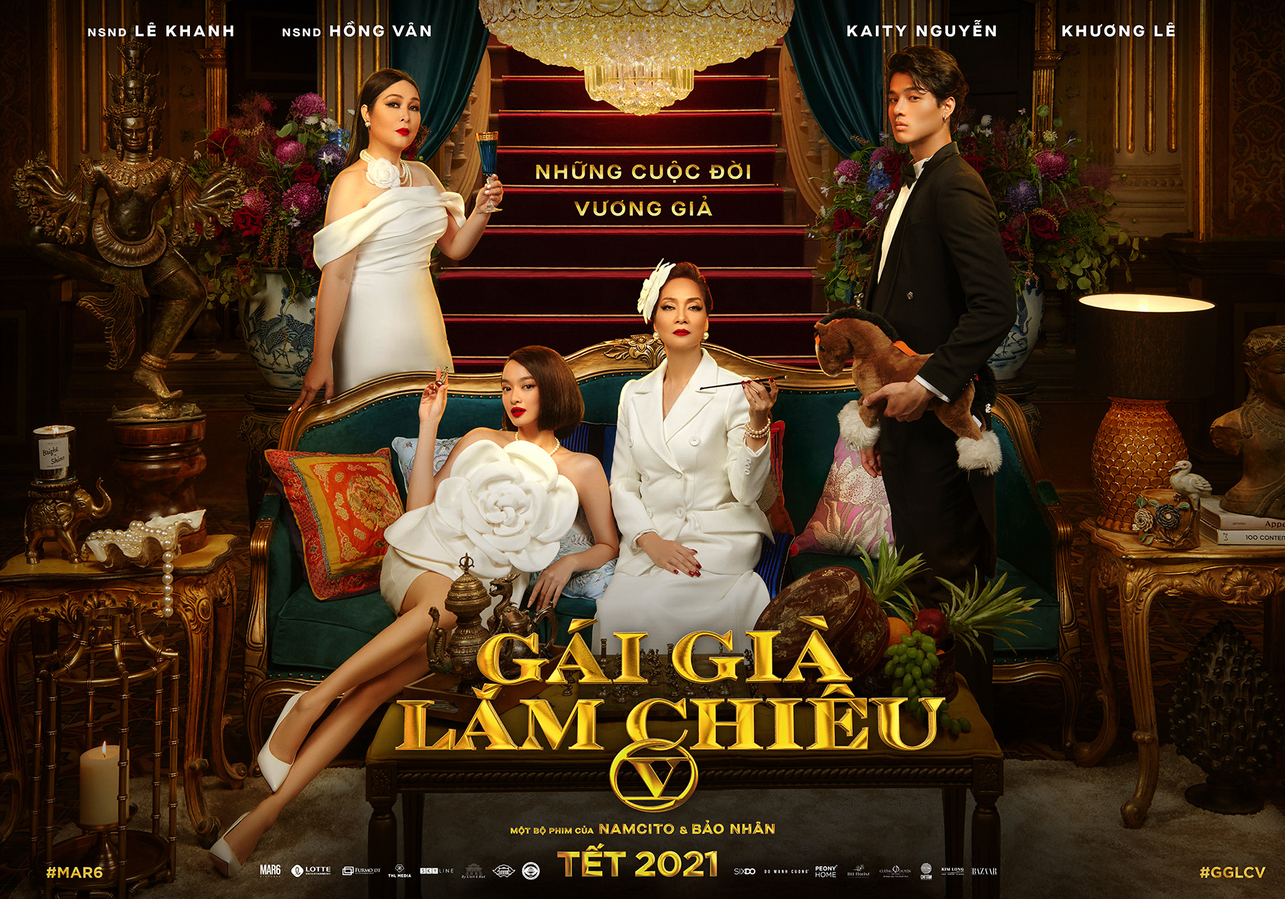Kaity Nguyễn cùng Lê Khanh, Hồng Vân gia nhập đường đua phim Tết với Gái già lắm chiêu 5 - Ảnh 5.